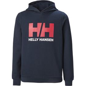 Helly Hansen HH Logo Hoodie Youth, niebieski